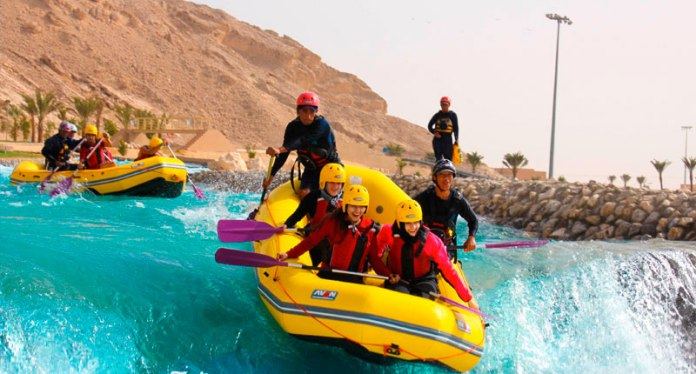 2 - You can do rafting in Dubai
