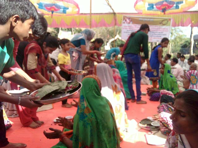 Parent's Worship Day Celebration At Divada,Gujarat