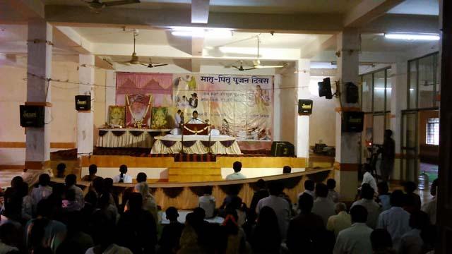 Pious Satsang By Sadhvi Leena Bahan&Parent's Worship Day Celebration At Kharagpurl,West Bengal