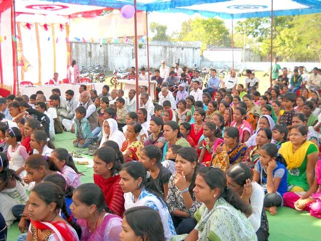 Parent's Worship Day Celebration In seoni,Madhya Pradesh