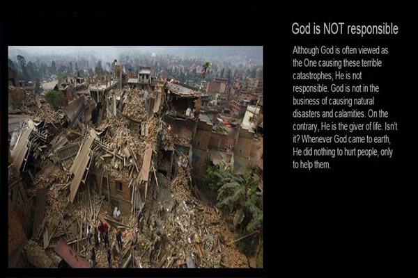 Sant Shri Asharamji  Ashram Nepal Earth Quake Relief Work