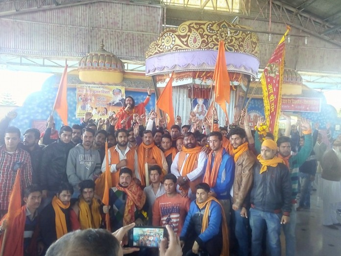 Mata-pita pujan at jammu ashram
